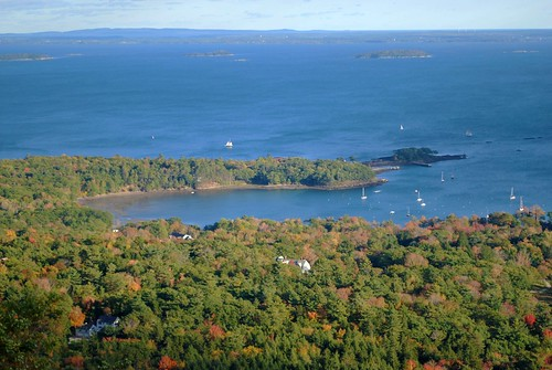 Penobscot Bay from Mount Battie