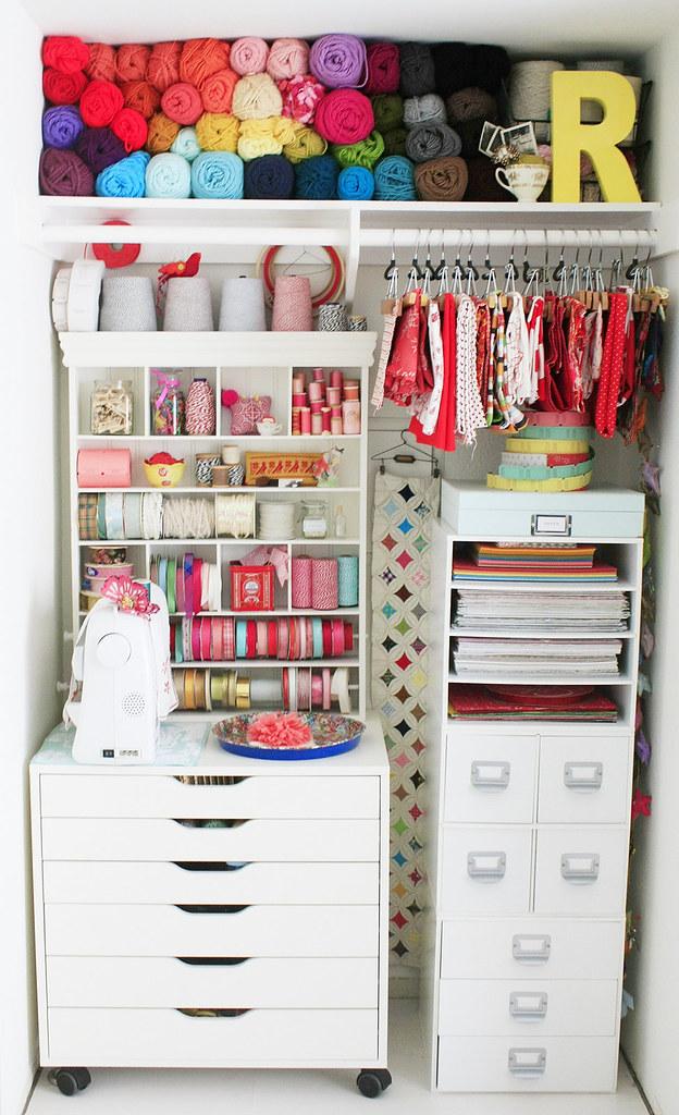 happy studio closet