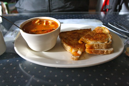 The Perfect Soup and Sandwitch