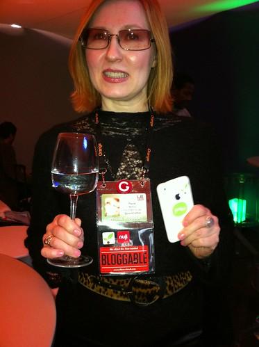 Aaaand another happy #tnwbloggable person @PaulaMarttila