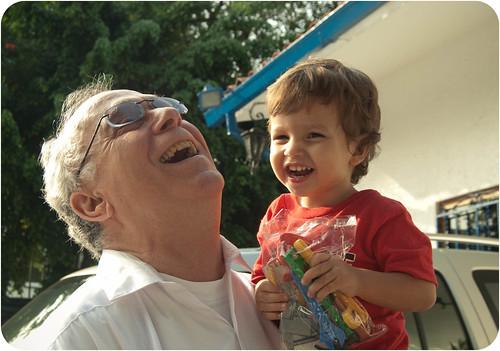 Papá y Adrian - 2008