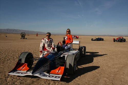 Mario Andretti at the shoot