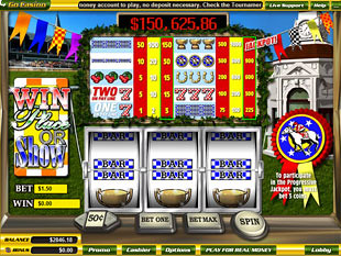 Win Place or Show slot game online review