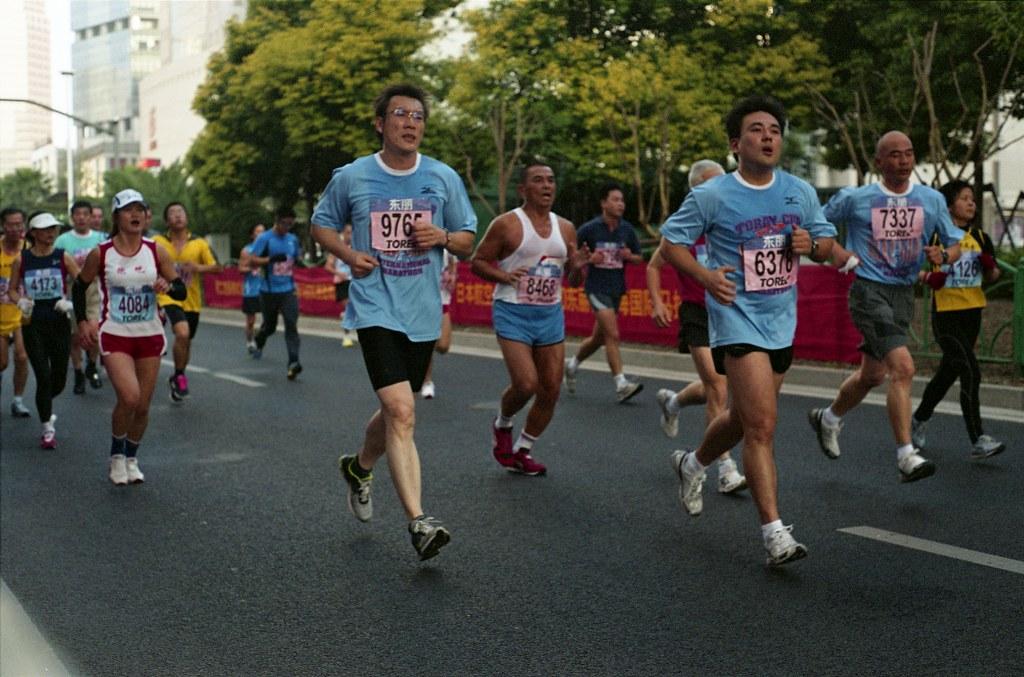 Shanghai, running, jogging,