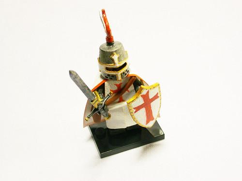 Templar Knight custom minifig