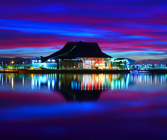 Tempe Center for the Arts Sunset (gbrummett) Tags: arizona colors az 2470l tempe img4269 canonef2470mmf28lusmzoomlens canoneos5dmarkiicamera grantbrummett tempecenterfortheartssunset