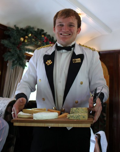 Preview of Xmas Lunch on the Orient Express