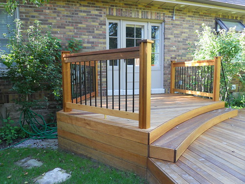Whats fancy about this deck?  Designer Patio Furniture Blog