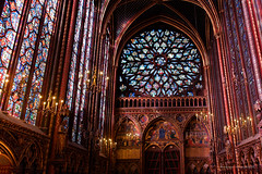 Sainte Chapelle from Paris-41 (christian_jacquet) Tags: paris france church louis king catholic religion gothic 9 stainedglass saintlouis blanche gothique chapelle saintechapelle roi 1242 architecte vitraux moyenage castille catholique architec 1248 pierredemontreuil royaute middleadge windowscarlzeiss