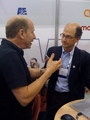 Paul Dunay interviewing LiveWorld CEO