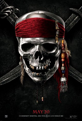 Pirates of the Caribbean On Strange Tides poster