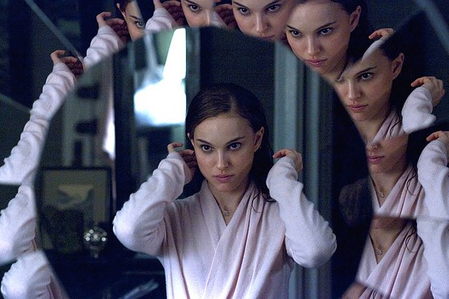 Natalie Portman loses control of all sides of herself in 'Black Swan'.