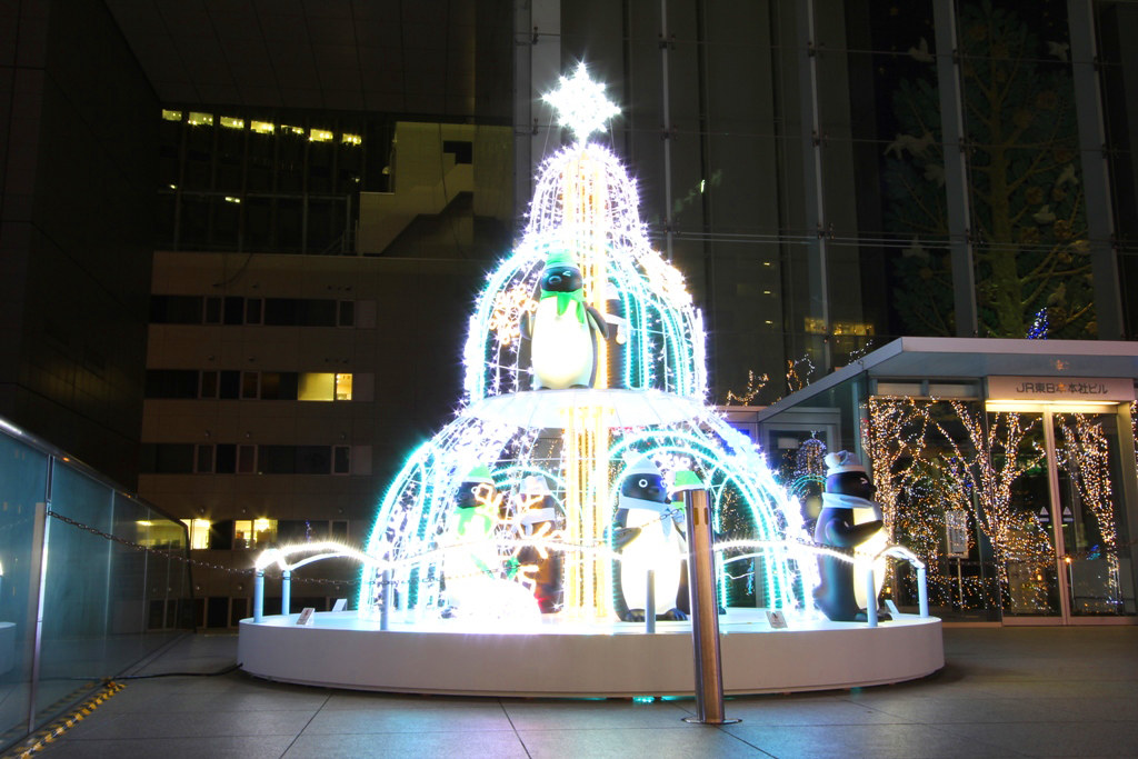 Shinjuku Xmas illumination 2010 (4)