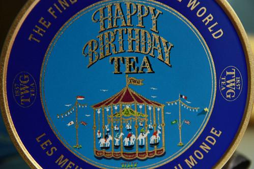 Happy Birthday Tea