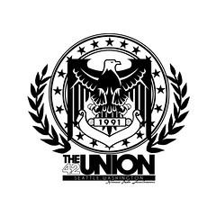 42nd Union Logo (Designs by JR) Tags: seattle shirt logo stars island washington kent spokane pacific northwest eagle symbol native circles union 206 jr mercer badge olympia shield 1991 insignia kirkland tee bellevue 42nd pledge 425