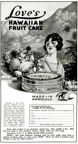 Hawaiian Fruitcake The Rotarian Nov 1923