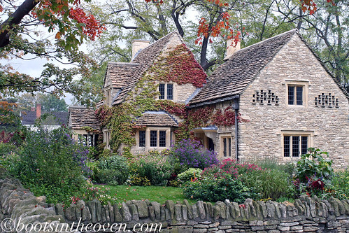 A 17th-century (I think) Cotswold Cottage
