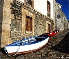 Calle Arriba (celicom) Tags: muelle mar barcas tierra tapiadecasariego principadodeasturias