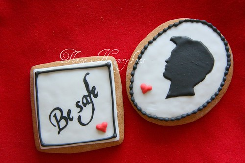 Twilight Silhouette Cookies-Edward
