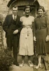 Ray, Midge and May Freear 1930s