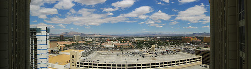 Las Vegas-View From Paris Hotel-Pano
