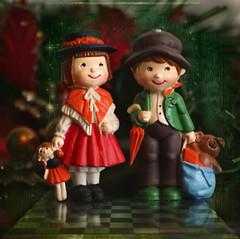 Feliz Natal ! Feliz Navidad! Bon Nadal ! Merry Christmas ! Joyeux Noël ! Buon Natale! (Martha MGR) Tags: dolls feliznatal merrychristmas feliznavidad buonnatale mmgr joyeuxnoël bonnadal saariysqualitypictures marthamgr marthamariagrabnerraymundo marthamgraymundo