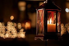 365: 231: Picture the Holidays: Warm Glow (jeanmariehoward) Tags: light 50mm warm december glow candle bokeh graduation pride depthoffield glowing lantern 365 congratulations texasam warmglow canoneos40d bokehchristmas picturetheholidays