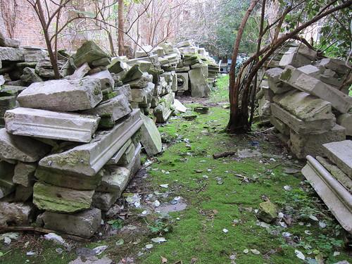 cloister rubble