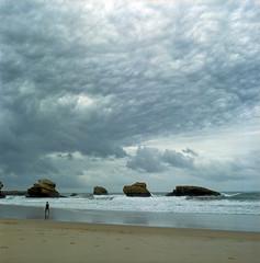 sky in Biarritz