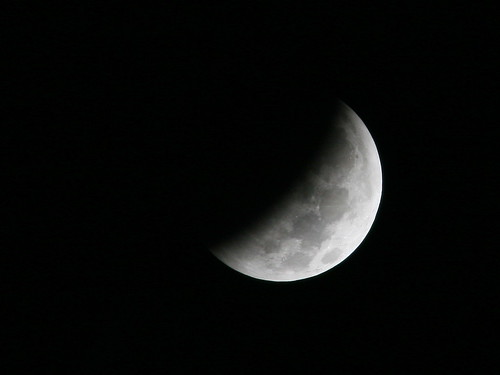 Partial Eclipse at 2:13AM EST 2010-12-21