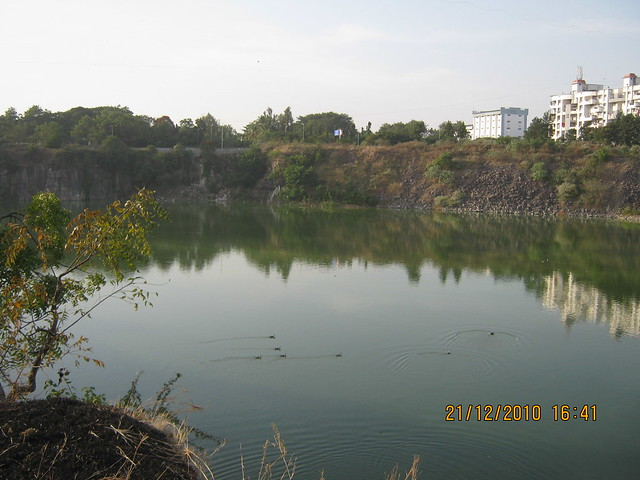 Vishrantwadi Lake - Nandan Euphora  2 BHK & 3 BHK Flats at Dasharath Nagar, Airport Road, Vishrantwadi, Pune 411 015