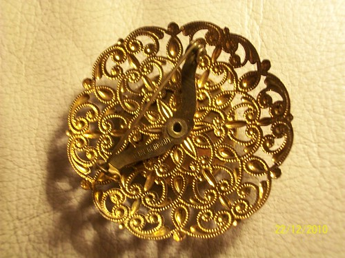 Back of Brooch