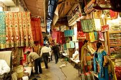 35 bazar Jaipur. Rajasthan. India (courregesg) Tags: india clothes material rue sreet jaipur bazar rajasthan inde tissus
