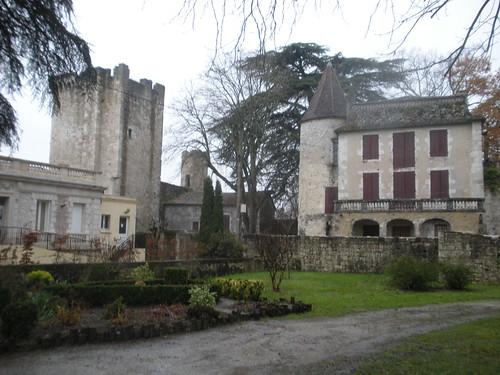 Parts of the old bastide of Eymet