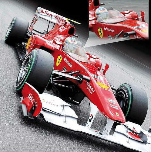 F1 pare-brise
