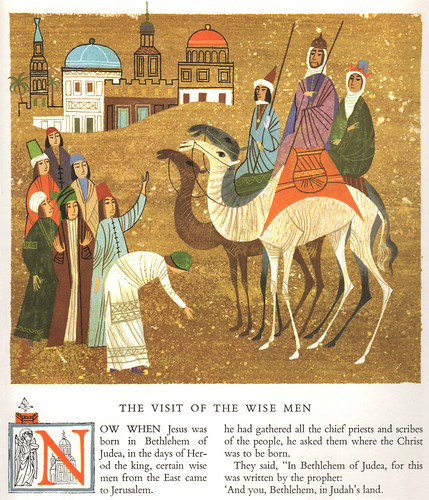 The Golden Bible: New Testament (Wise Men)