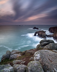 Lands End (peterspencer49) Tags: uk sunset seascape beach coast cornwall unitedkingdom britain stunning end coastline lands seaview coastalpath seascene cosatline oceanveiw 5dmkll senicvista stunningseascape
