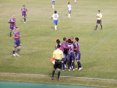 オウンゴール@セレッソ大阪 VS 横浜マリノス
