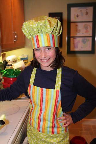 christmas cooking hat kids costume chef tamron 2010 tamron18270