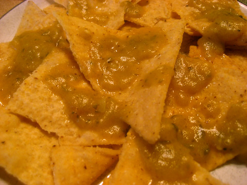 salsa on chip