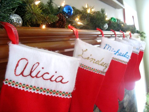 Stockings at Mom and Dad's