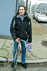 Maiki (zhoffner) Tags: seattle beer bike bicycle fixedgear pabstblueribbon maiki dropbars