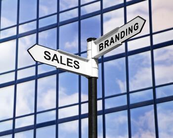 sales vs branding