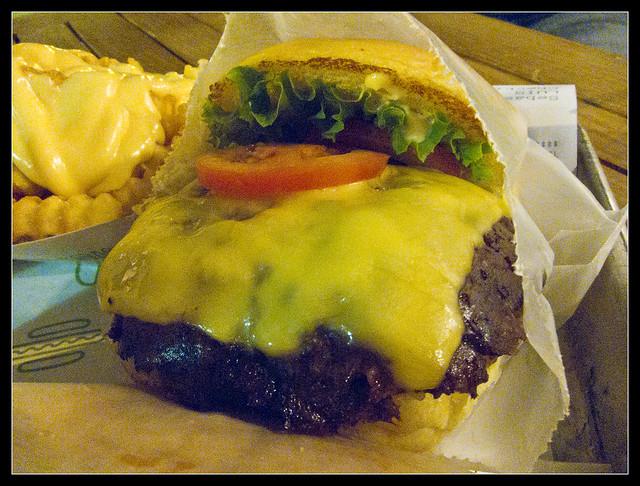 Hamburguesa (Shake Shack)