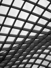 Curving-roof-of-National-Portrait-Gallery-2 (mbgmbg) Tags: roof blackandwhite abstract silhouette architecture washingtondc washington districtofcolumbia unitedstates curves places nationalportraitgallery kw2flickr kwgooglewebalbum takenbymarkgerstein kwpotppt kwphotostream4 kwportraitgallery kwportraitgalleryroof