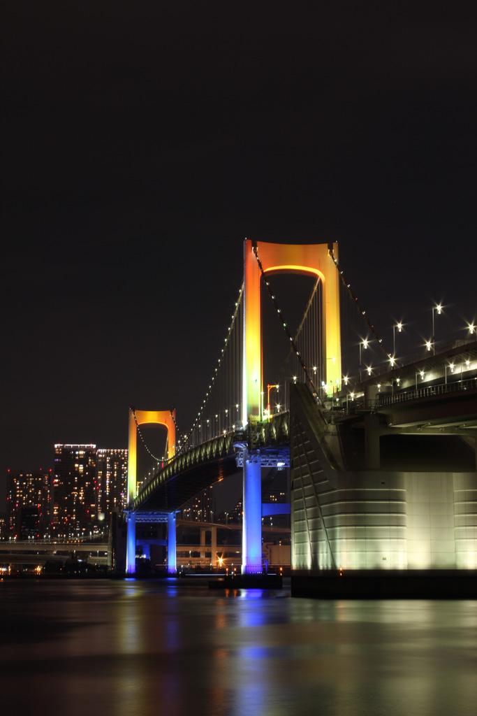 Rainbow bridge illumination 02(TOKYO)