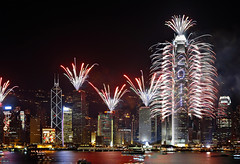 2011 countdown in Hong Kong (leungchopan) Tags: show new light happy hongkong fireworks year countdown 2011 gettyholidays2010 gettyimageshongkongmacauq1