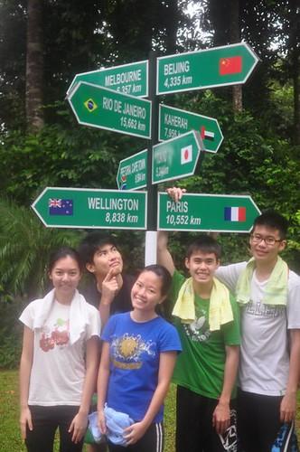 Chern Jung,Calvin,Terence,Chee Li Kee and Shi Ning