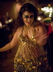 Arielle - Med Hookah Halloween Show 10 30 10 (Drumdude Bill) Tags: beautiful bellydance arielle madisonwisconsin nikkor50mmf14d  nikond700   mediterreaneanhookahloungeandcafe   doumtekphotography    2011