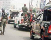 Nigerian police step-up their patrols as tensions mount inside the country. An escalation of violence has erupted in various regions of the oil-rich state. by Pan-African News Wire File Photos